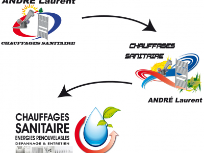 chauffages sanitaire refonte logo