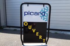 Stop trottoir Picard Mende