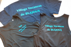Village Vacances blajoux flocage