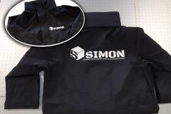 SIMON flocage vestes de pluie