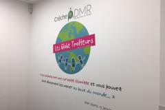 ADMR salon de provence adhesif mur