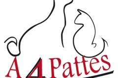 A 4 pattes logo