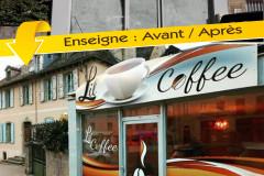 lil coffee avant apres