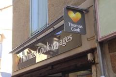 Thomas Cook Voyages enseigne et Potence