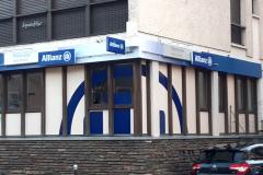 Allianz Mende vitre et caisson enseigne