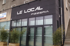 Enseigne Le local pizzeria