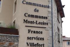 France Services villefort 2021