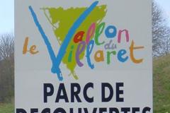 Le Vallon du Villaret pré-enseigne