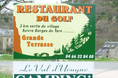 Restaurant du Golf pré-enseigne