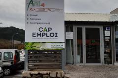 Totem AIPPH et CAP EMPLOI
