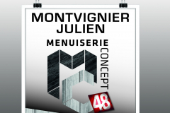 Menuiserie concept 48 - Affiches
