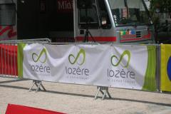 Conseil Général Lozère banderole