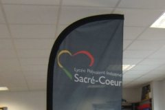 Flag sacre coeur