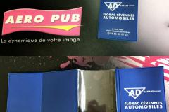 Porte carte grise AD Garage