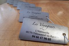 Les voyageur - Confection portes clés vernis