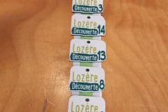 Lozère découverte  - Confection portes clés vernis