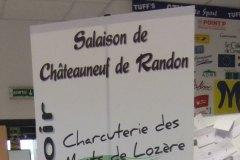 Trépied Salaison de Châteauneuf de Randon