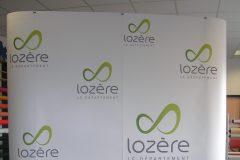 Stand Parapluie CG Lozère