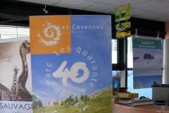 Roll Up 40-ans du parc des cévennes
