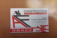 Armando figueiredo construction carte de visite