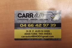 carr auto carte de visite