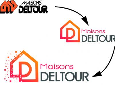 Maison deltour refonte logo