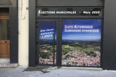 Elections Municipales Micro perforé Langogne