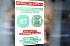 Adhésifs prévention COVID-19 distanciation