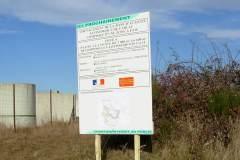 panneau de chantier ZAE de carlac