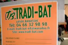 panneau de chantier tradi-bat
