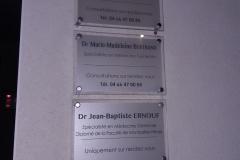 Plaque Proefessionnelle Dr Minet-Bertrand-Ernouf
