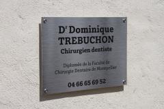 Plaque Dr Trébuchon