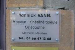 Plaque Vanel Yannick