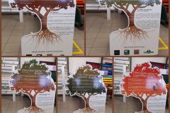 ONF panneaux arbres sur trespa