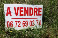 panneau Provisoire A VENDRE