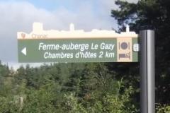 Fléche Ferme-Auberge Le Gazy