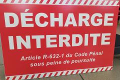 Decharge Interdite  carlène