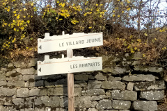 Le Villard panneaux directionnel