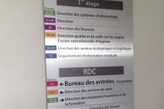 signalétique intérieur centre hospitalier françois tosquelles