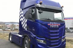 Camion Gleyzon damier