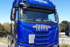 Gleyzon face camion