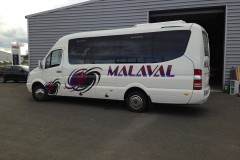 Mini-bus Malaval