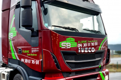 Camion S&B iveco stralis