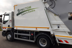 SYMCTOM Lozere Centre camion poubelle