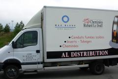 Al distribution camion