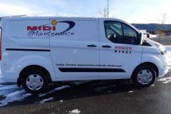 Midi maintenance ford custom L1H1