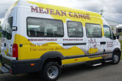 Mini-bus mejean canoë