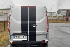 Bande noir mat ford transit -2