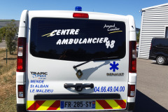 Centre Ambulancier 48 - traffic