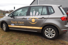 Handi vision golf sportvan